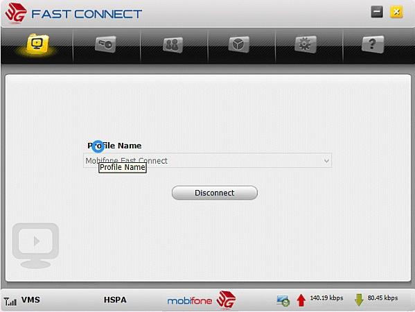 Khắc phục lỗi Fast Connect Mobifone không kết nối được 3G