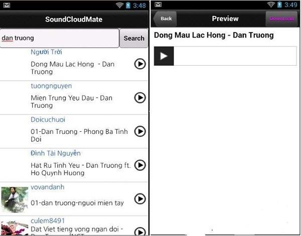 tải nhạc MP3 trên SoundCloud