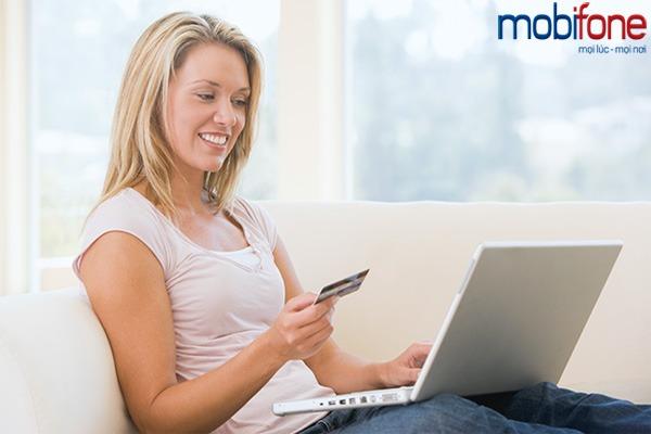 tặng 50% thẻ nạp trực tuyến Mobifone ngày 24/6
