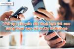 Thủ tục chuyển đổi thuê bao trả sau Mobifone sang trả trước