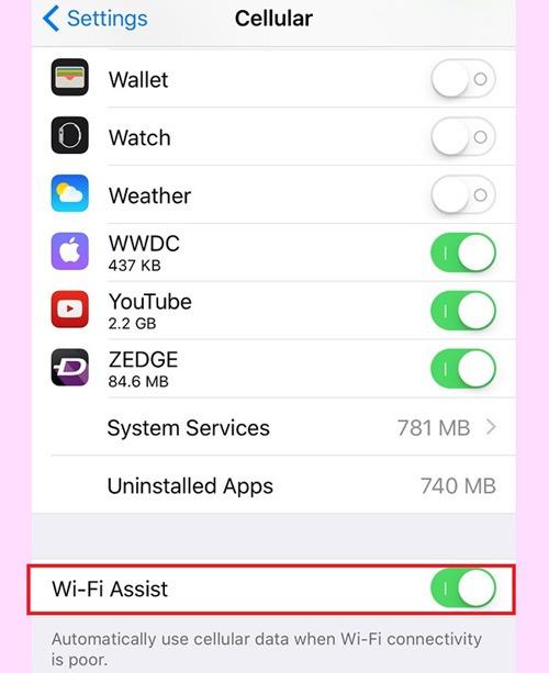 tiết kiệm tối đa dung lượng 3G trên iPhone