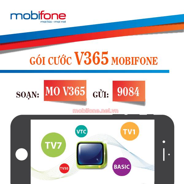 Đăng ký gói cước V365 Mobifone chỉ 200.000đ/năm